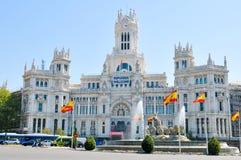 Madryt miasto, Hiszpania Zdjęcia Stock