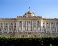 madryt pałac królewski Hiszpanii Obraz Royalty Free