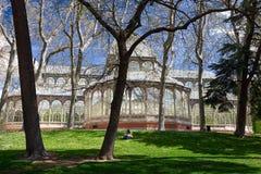 Madryt, Palacio De Cristal Zdjęcia Stock