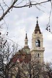 Madryt pejzaż miejski - stary kościół Obraz Stock