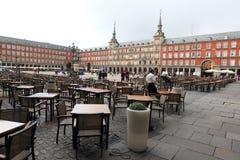Madryt - placu Mayor zdjęcie royalty free