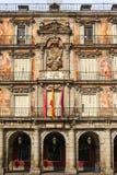 Madryt, placu Mayor, fasada Casa De Los angeles Panaderia Obraz Royalty Free