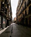 Madryt ulica zdjęcia royalty free