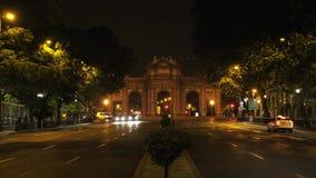Madryt wysklepia Losu Angeles Puerta De Alcala łuk, Madryt, Hiszpania zbiory