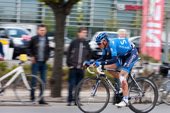 Mads Christensen in front in Giro d' Italia 2012 Royalty Free Stock Photo