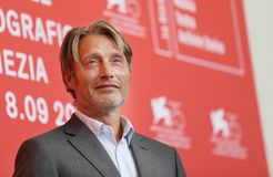 Mads Mikkelsen attends `At Eternity`s Gate` Royalty Free Stock Photo