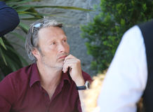 Mads Mikkelsen attends the Mayor`s lunch Royalty Free Stock Photography