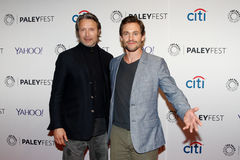 Mads Mikkelsen, Hugh Dancy Royalty Free Stock Image
