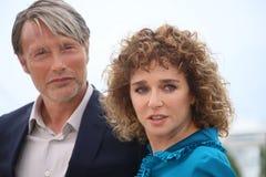 Mads Mikkelsen and Valeria Golino Royalty Free Stock Images