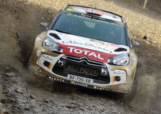Mads Ostberg - WRC - 11 Royalty Free Stock Images