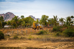 MADURAI, ИНДИЯ 15-ОЕ ФЕВРАЛЯ: Индийский работник 15-ого февраля 2013 я Стоковые Изображения RF