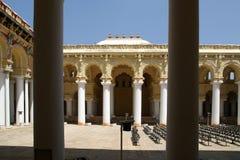 Madurai, South India. Thirumalai Nayakkar Mahal palace Stock Photography