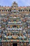 Madurai - Tamil Nadu - India. The Minakshi Sundareshvera Hindu Temple complex in Madurai in the Tamil Nadu region of southern India Royalty Free Stock Photos