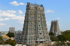 Madurai tempel Arkivfoton