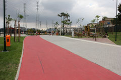 Madureira Park is expanded in Rio de Janeiro Royalty Free Stock Photo