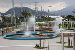Madureira Park is expanded in Rio de Janeiro Royalty Free Stock Image