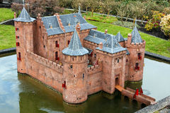 Madurodam castle miniature Royalty Free Stock Images