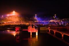 Madurodam de Light 2007 Imagenes de archivo