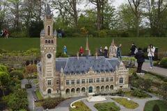 Madurodam, Dutch Miniature Park Stock Photos