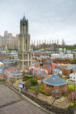 Madurodam - Miniature city and tourist attraction in Hague Royalty Free Stock Images