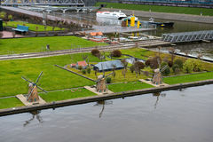 Madurodam - Miniature city and tourist attraction in Hague Stock Photos