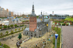 Madurodam - Miniature city and tourist attraction in Hague Stock Photo
