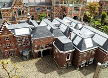 Madurodam,miniature park and tourist attraction in The Hague,Netherlands. Hague, Netherlands-October 2015, Madurodam, miniature park and tourist attraction stock photography