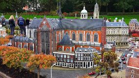 Madurodam,miniature park and tourist attraction in The Hague,Netherlands. Hague, Netherlands-October 2015, Madurodam, miniature park and tourist attraction stock images