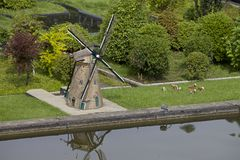 Madurodam Miniature Town, Netherlands Stock Photography