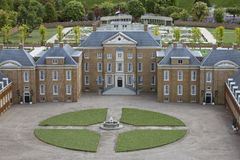 Het Loo Palace in Apeldoorn, Madurodam Miniature  Stock Photo