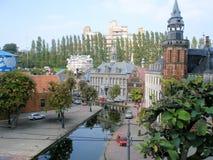 Madurodam in Scheveningen, Den Haag Royalty-vrije Stock Afbeelding