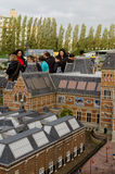 Maduromam. THE HAGUE, THE NETHERLANDS - OCTOBER 23, 2013: Madurodam, miniature city  with architecture and typical Dutch scenes on a scale 1:25 on October 23 Stock Photo