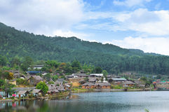 Mae Aw, Ban Rak Tai , Mae Hong Son Thailand Stock Photos