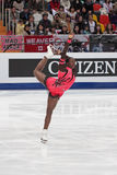 Mae Berenice MEITE, French figure skater Stock Images