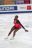Mae Berenice MEITE, French figure skater Royalty Free Stock Photo