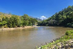 Mae Chaem river Stock Photography