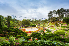 Mae Fah Luang Garden Royalty Free Stock Images