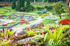 Mae Fah Luang Garden,locate on Doi Tung, Chiangrai Province Royalty Free Stock Photos