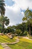 Mae Fah Luang Garden, situada em Doi Tung, Tailândia Imagem de Stock Royalty Free