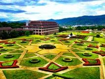 Mae Fah Luang University, Tailândia Foto de Stock Royalty Free