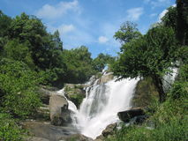 Mae Glang Waterfall, Thailand. Waterfall in Chiang Mai, Thailand royalty free stock photo