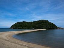 Mae Haad海滩的被分离的海 库存图片