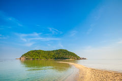 Mae Haad beach on Koh Phangan Stock Image
