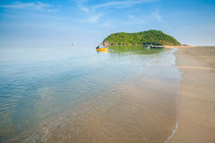 Mae Haad beach on Koh Phangan Royalty Free Stock Photo