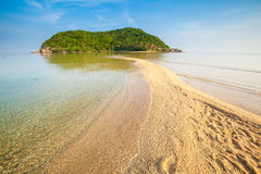 Mae Haad beach on Koh Phangan Stock Images