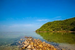 Mae Haad beach on Koh Phangan Royalty Free Stock Photography