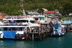 Mae Haad ferry pier. Koh Tao. Surat Thani province. Thailand