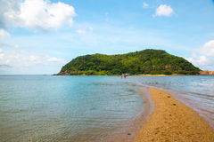 Mae Haad plaży seascape Zdjęcie Stock