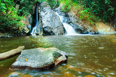 Mae-Haad Waterfall; Huai Nam Dang National Park Stock Photo