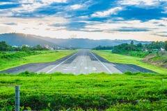 Mae Hong Son Airport Stock Image